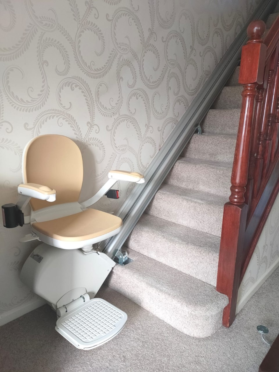 Rented stairlift photo